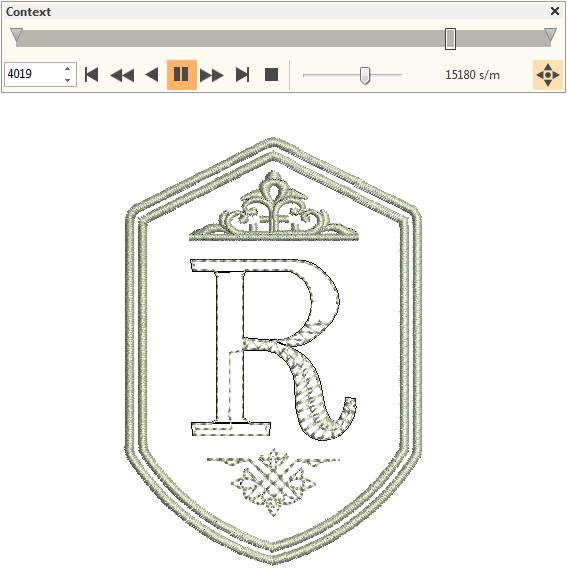Simulate Stitchout