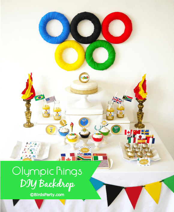 Olympic Rings Table