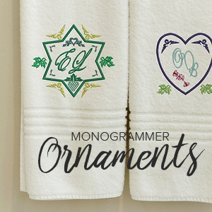 Learn All About Monogramming Ornaments