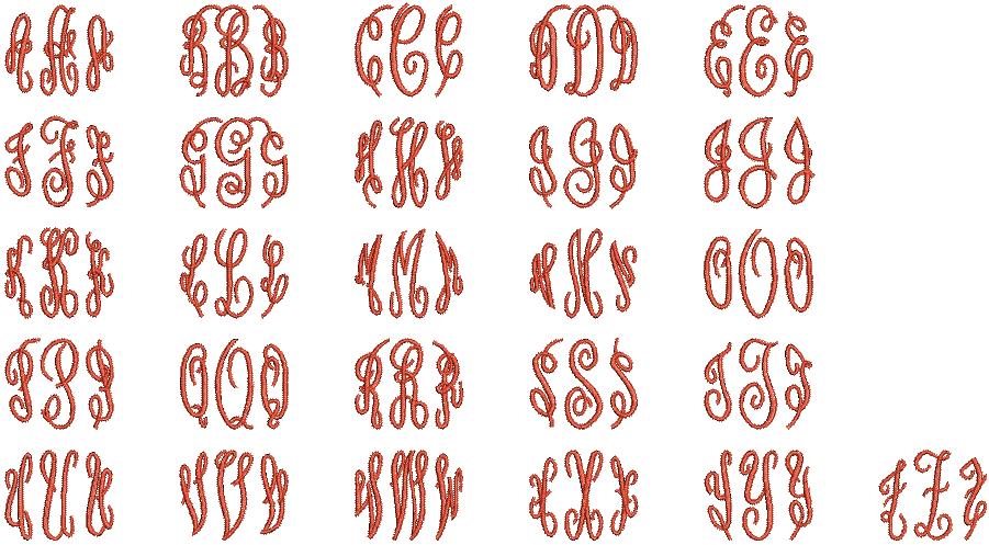 MonogramFancy
