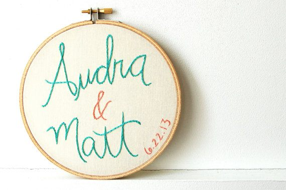 Embroidery Hoop Ornaments and Decorations