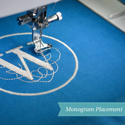 Taking the Guesswork out of Monogram Placement