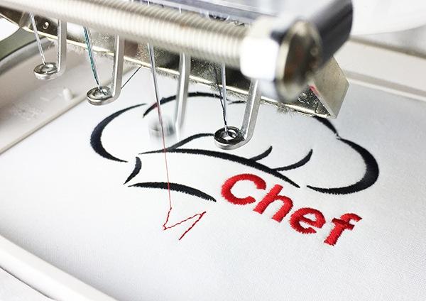 Machine Embroidery File Future Chef