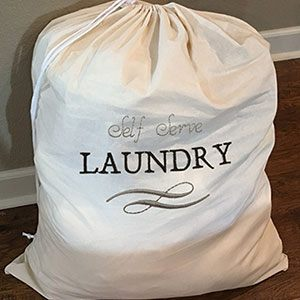 Back-To-School Laundry Bag Project with FREE Embroidery Designs
