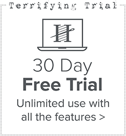 30 day free trial of Hatch Embroidery Digitizer
