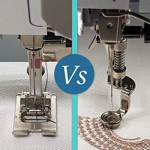 Embroidery Machine vs Sewing Machine