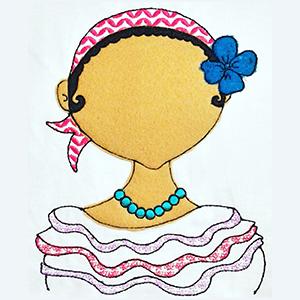 Dominican Doll by Norhilda Alvarez