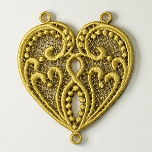 Dramatic Heart Necklace – Video Tutorial & FREE Design by Sonia Showalter