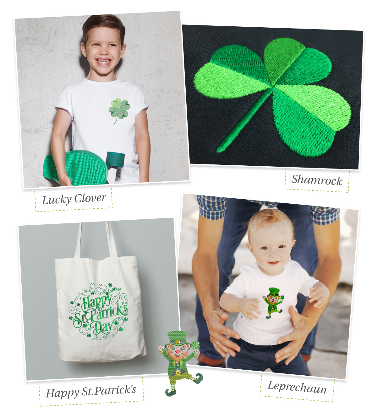 St Patrick's Day free designs