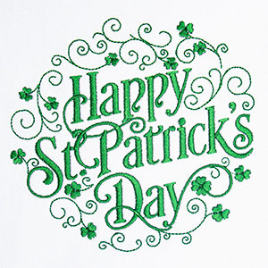 Celebrating St Patrick's Day with Great FREE Embroidery Designs